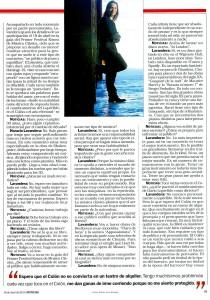 NOTICIAS, 18 DE ABRIL